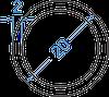 Алюмінієва труба кругла ø 20x2 мм з покриттям. Порізка в розмір
