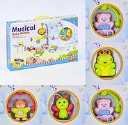 Детский музыкальный мобиль 6518 / музыкальная карусель в кроватку (манеж)