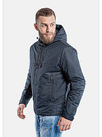 Cиняя легкая мужская куртка осенняя 52р