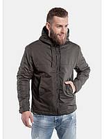 Демисезонная мужская куртка Хаки осенняя 46р