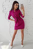 Платье туника с пуговицами, фото 1