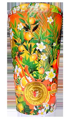 Чай Chelton с бутонами роз и лепестками цветов Солнечный фрукт черный листовой 100 г в жестяной банке