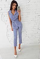 Женский полосатый костюм, фото 1