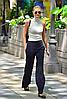 Жіночі ботильони Solo Femme (Польща) чорного кольору. Дуже модні та комфортні. Стиль: Карлі Клосс, фото 7