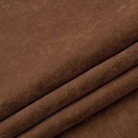 Ткань антикоготь флок Финт рыжего цвета
