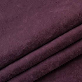 Ткань антикоготь флок Финт лилового цвета