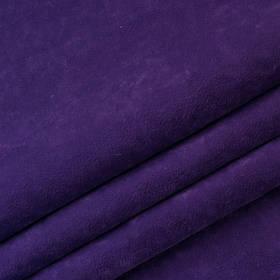 Ткань антикоготь флок Финт фиолетового цвета