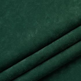 Ткань антикоготь флок Финт изумрудного цвета