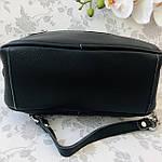 Женская сумка кожаная черная (91278), фото 4