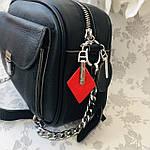 Женская сумка кожаная черная (91278), фото 3