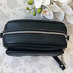 Женская сумка кожаная черная (91278), фото 5