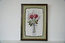 Картина вишита Троянди