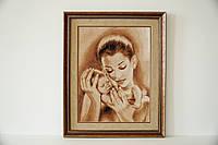 "Картина вишита ""Мама і малюк"""