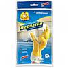 Перчатки резиновые Фрекен Бок стандарт желтые