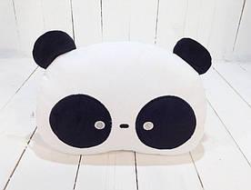 Мягкая игрушка подушка Strekoza Панда 24см белый