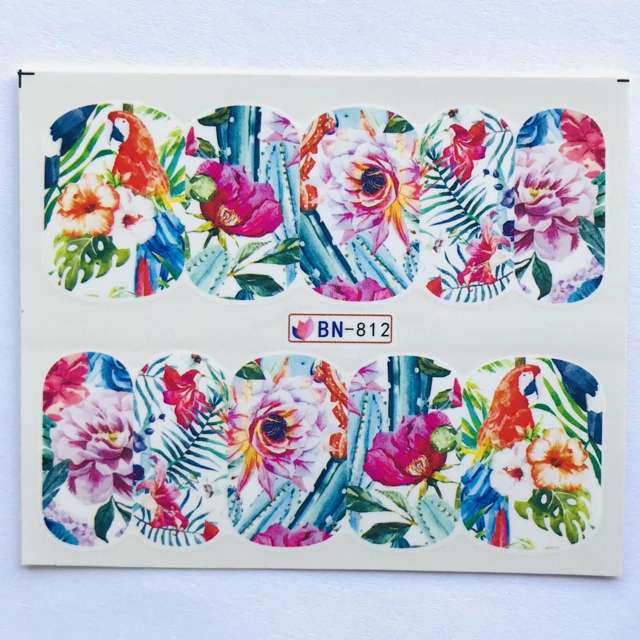 Слайдер Flowers BN 812