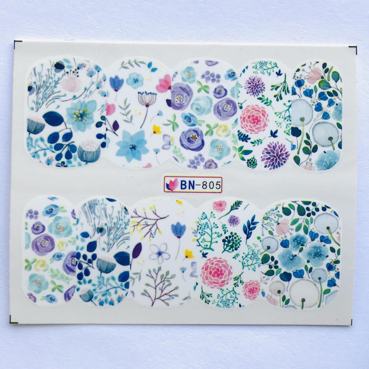 Слайдер Flowers BN 805