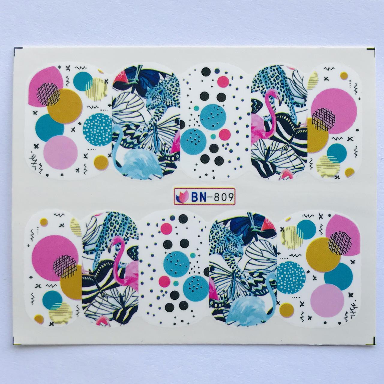 Слайдер Flowers BN 809