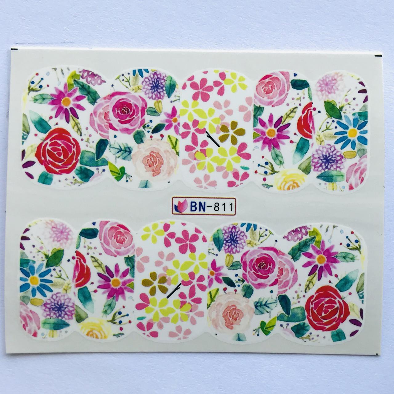 Слайдер Flowers BN 811
