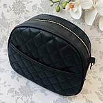 Стильная женская сумка черная (1032), фото 3