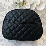 Стильная женская сумка черная (1032), фото 4