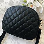 Стильная женская сумка черная (1032), фото 2