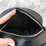 Стильная женская сумка черная (1032), фото 7