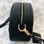 Стильная женская сумка черная (1032), фото 6