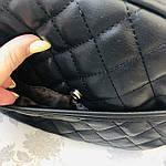 Стильная женская сумка черная (1032), фото 8