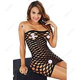 """Сексуальное сетчатое платье """"Альба""""14403 для Вашей фигурки, фото 2"""