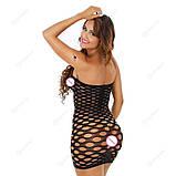 """Сексуальное сетчатое платье """"Альба""""14403 для Вашей фигурки, фото 3"""