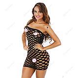 """Сексуальное сетчатое платье """"Альба""""14403 для Вашей фигурки, фото 4"""