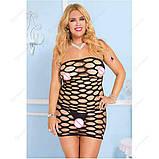 """Сексуальное сетчатое платье """"Альба""""14403 для Вашей фигурки, фото 5"""