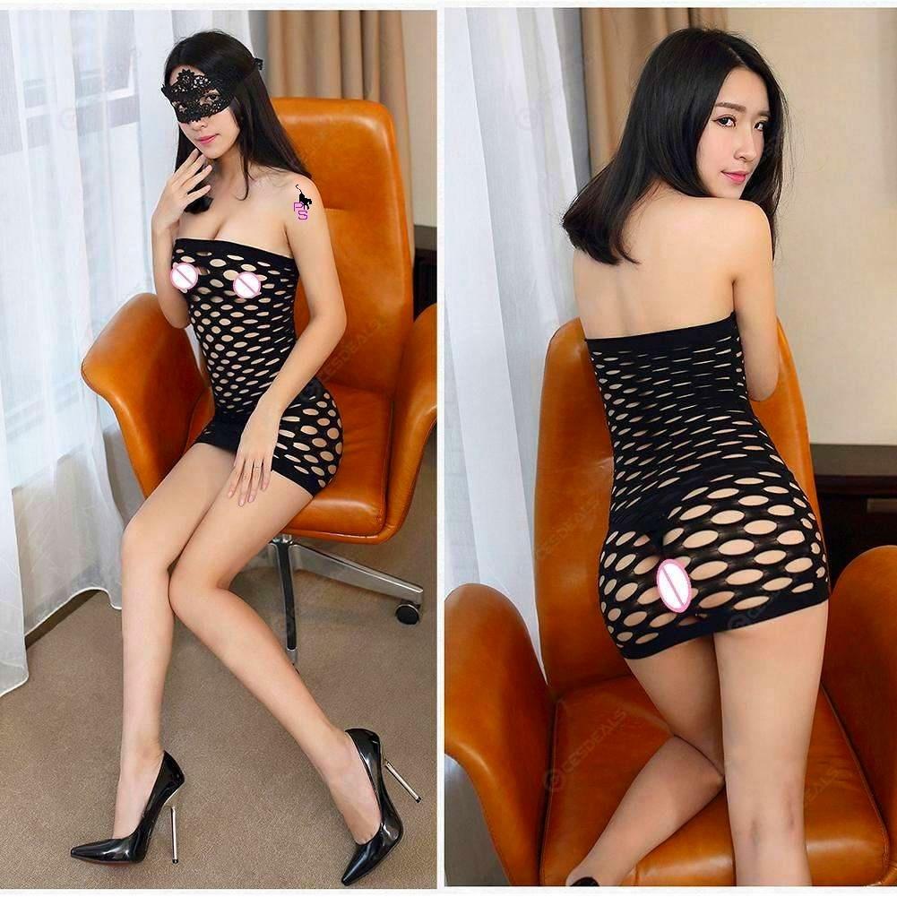 """Сексуальное сетчатое платье """"Альба""""14403 для Вашей фигурки"""