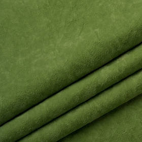 Ткань антикоготь флок Финт зеленого цвета