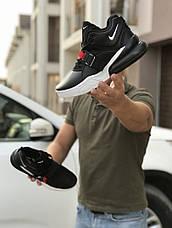 Кроссовки мужские Nike Air Force 270, черно-белые, фото 3