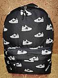 Принт рюкзак качество спортивный спорт городской стильный ОПТ Школьный рюкзак, фото 2