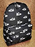 Принт рюкзак качество спортивный спорт городской стильный ОПТ Школьный рюкзак, фото 3