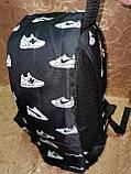 Принт рюкзак качество спортивный спорт городской стильный ОПТ Школьный рюкзак, фото 4