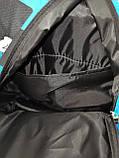 Принт рюкзак качество спортивный спорт городской стильный ОПТ Школьный рюкзак, фото 5