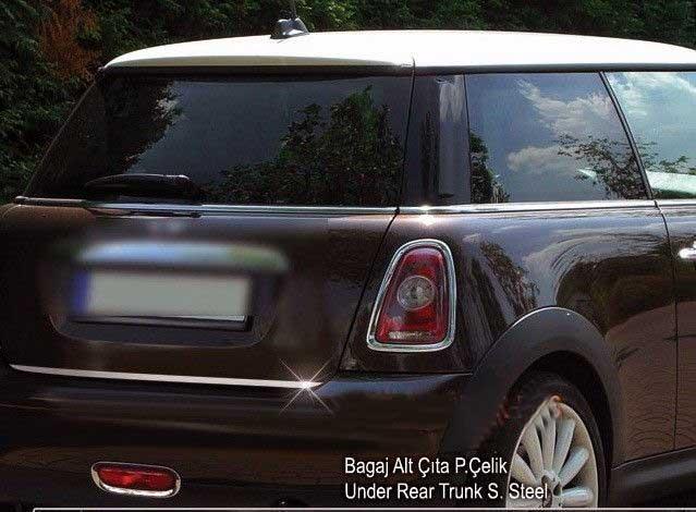 Нижняя кромка багажника Mini Cooper, Clubman, Countryman (нерж.) Carmos