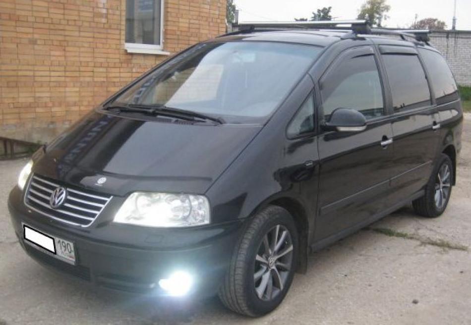 Дефлекторы окон, ветровики Volkswagen Sharan 1996-, Ford Galaxy 1996-2006 Cobra
