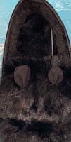 Кроссовки женские зимние 8 пар в ящике черного цвета 36-41, фото 4