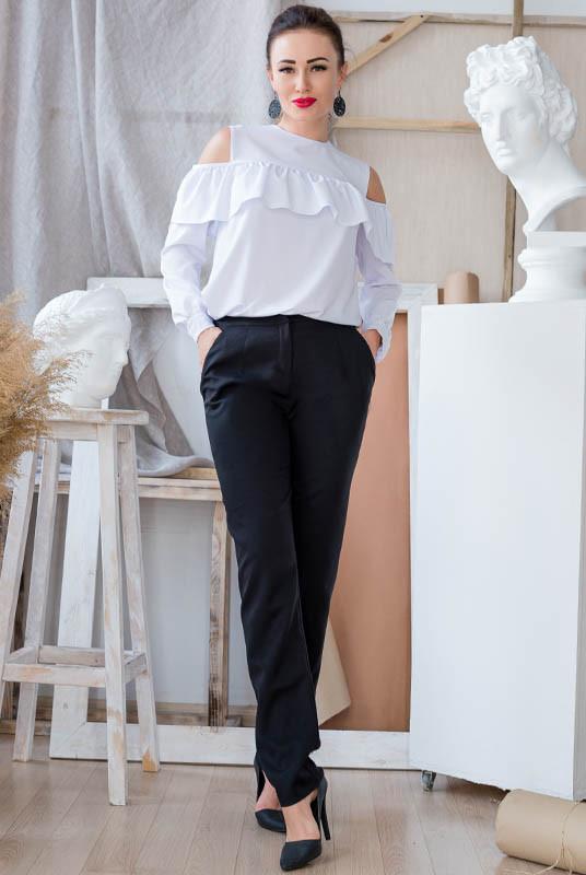 Біла блузка Діамант і Штани Радмила