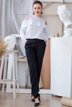 Белая блузка Диамант и Брюки Радмила
