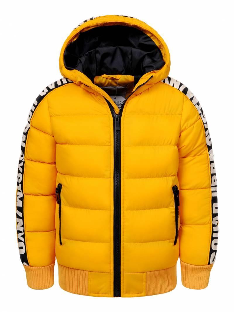 Куртка для мальчика  BMA-8463 жолтая