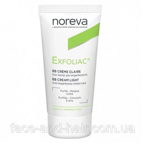 BB крем для лица Норева Эксфолиак Noreva Exfoliac BB Cream, 30 мл