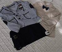 Современный костюм для мальчика из льна и коттона, 1-4 лет, 550/530 (цена за 1 шт. + 20 гр.)