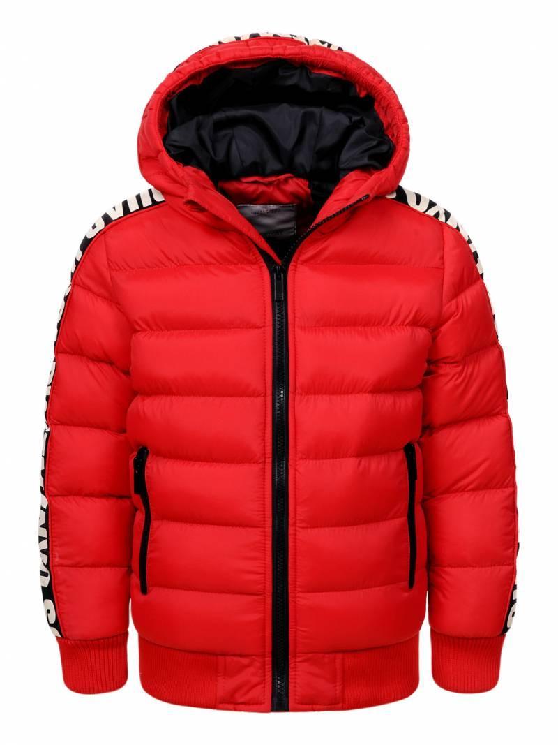 Куртка для мальчика  BMA-8463 красная