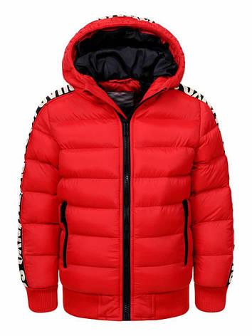 Куртка для мальчика  BMA-8463 красная, фото 2